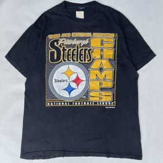 95s VINTAGE<BR>STEELERS NFL<BR>T-SHIRT<BR>95s スティーラーズ NFL<BR>Tシャツ