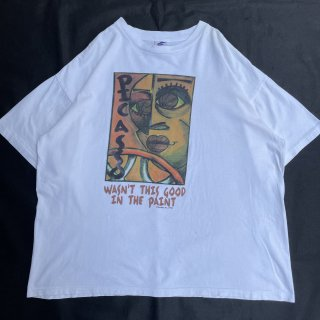90s VINTAGE<BR>PICASSO<BR>ART T-SHIRT<BR>90s ピカソ<BR>アートプリント Tシャツ