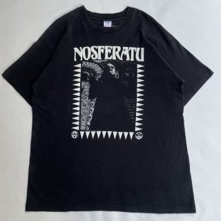 90s VINTAGE<BR>NOSFERATU<BR>T-SHIRT<BR>吸血鬼ノスフェラトゥ<BR>プリントTシャツ<BR>映画