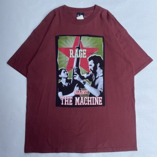 00s VINTAGE<BR>RATM<BR> PRINT T-SHIRT<BR>00s ヴィンテージ<BR>レイジアゲインストザマシーン<BR>プリントTシャツ