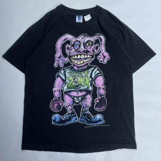 """90s VINTAGE<BR>WHITE ZOMBIE<BR>""""MORE HUMAN THAN HUMAN""""<BR>T-SHIRT<BR>90sヴィンテージ<BR>ホワイトゾンビ<BR>Tシャツ"""
