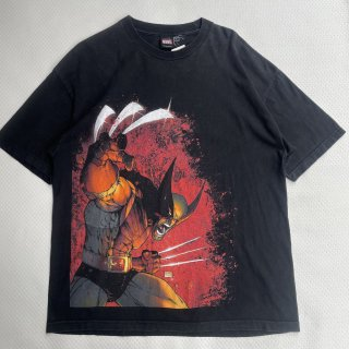 00s VINTAGE<BR>MARVEL<BR>WOLVERRINE<BR>T-SHIRT<BR>マーベル<BR>ウルヴァリン<BR>プリントTシャツ