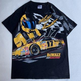 """90s VINTAGE<BR>NASCAR<BR>""""MATT KENSETH"""" T-SHIRT<BR>90sヴィンテージ<BR>NASCAR<BR>マット・ケンゼスTシャツ"""