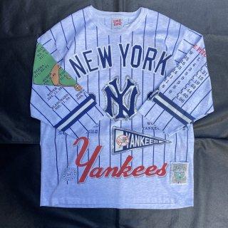 90s VINTAGE MLB <BR> YANKEES<BR>Memorial<BR>T-SHIRT<BR>ニューヨーク<BR>ヤンキース<BR>メモリアルTシャツ