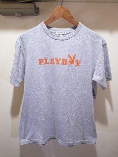 プレイボーイ プリントTシャツ (グレー)<BR>PLAYBOY PRINT TEE (GRAY)