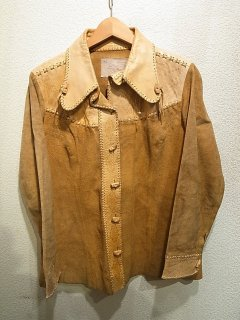 70s チャー レザージャケット<BR>VINTAGE Char LEATHER JACKET