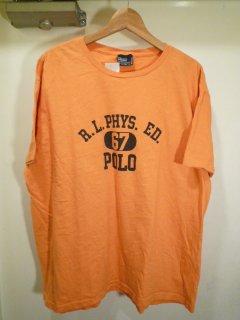 ポロラルフローレン ロゴプリントTシャツ<BR>RALPH LAUREN LOGO PRINT TEE