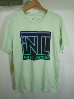 MARC JACOBS PRINT TEE (GREEN)