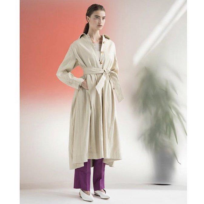 Styling/ スタイリング ドレスステンカラーコート