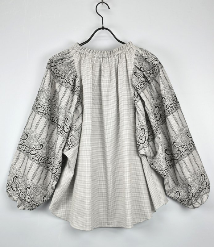 5-knot/ファイブノット BOTANICAL EMBROIDERY BLOUSE