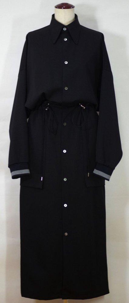 UJOH/ウジョー Draw Code Shirts Dress