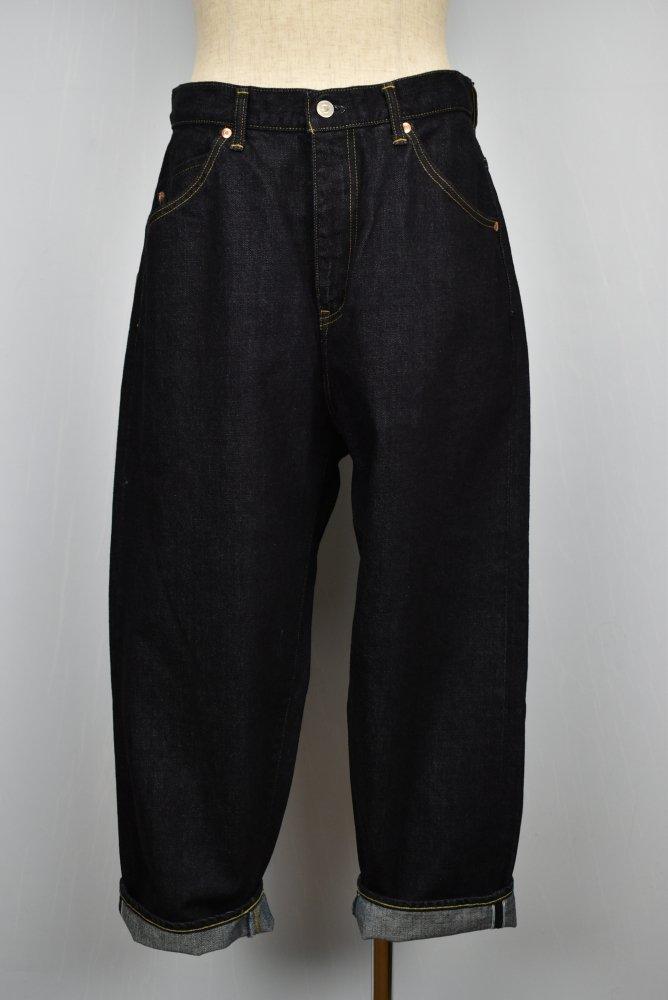 NEGATIVE DENIM/ネガティブデニム 5Pocket Wide Jeans