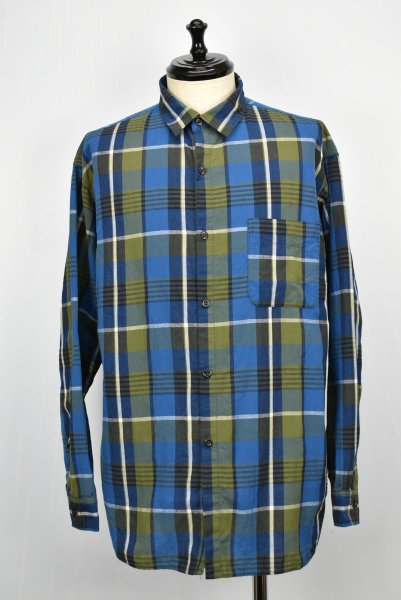 WHITE LINE/ホワイトライン WL Cotton Hemp Check Shirt