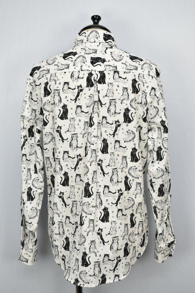 NAKED&FAMOUS DENIMU/ネイキッド&フェイマスデニム Cats shirt