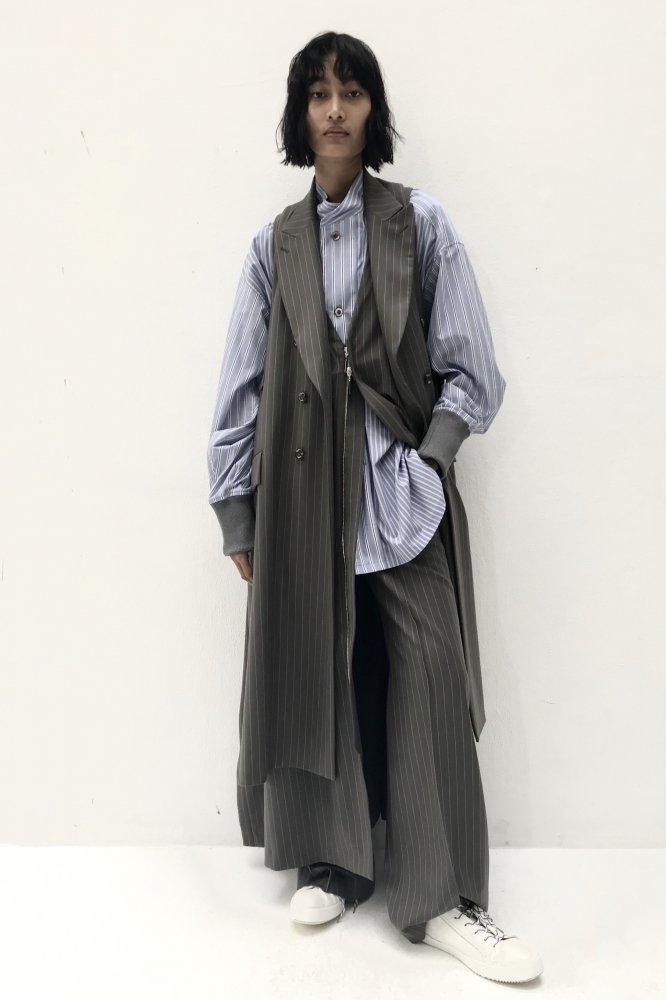 UJOH/ウジョー Tailored Flare Vest