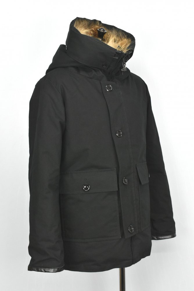 WHITE LINE / ホワイトライン Oiled Cotton Down Coat