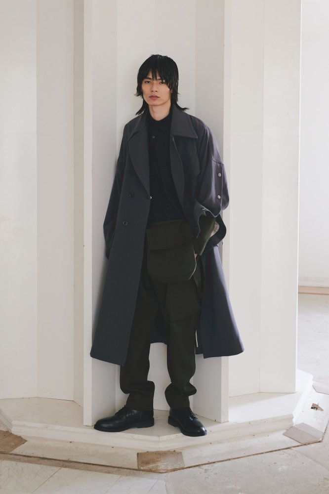 <img class='new_mark_img1' src='https://img.shop-pro.jp/img/new/icons14.gif' style='border:none;display:inline;margin:0px;padding:0px;width:auto;' />UJOH / ウジョー  Motorcycle Coat