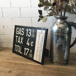 A4ポスター(GAS STAND PRICE SIGN )