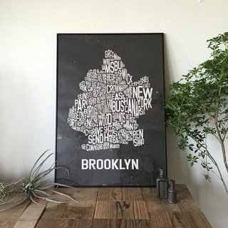 B2ポスター(BROOKLYN-BLACK)