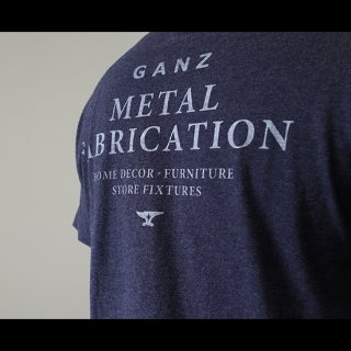 METAL FAB S/S TEE [Heather Navy] | メタルファブTシャツ
