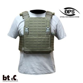 【UR TACTICAL】OPS ADVANCED MODULAR PLATE CARRIER SYSTEM(レンジャーグリーン)