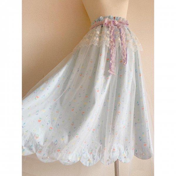 天使のスカート*ミズイロ(丈約80cm)