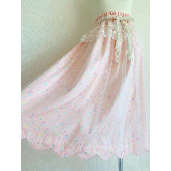 天使のスカート*ピンク(丈約80cm)