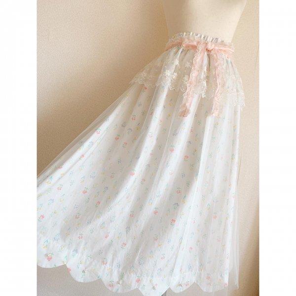 天使のスカート*ホワイト(丈約80cm)
