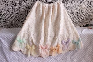幸せのリボンスカート(パステル)