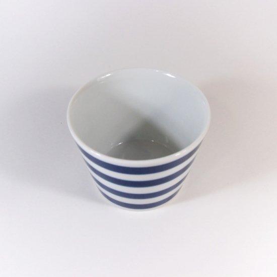 essence(エッセンス)|ボーダー ESカップS(蕎麦猪口)(DB) 【波佐見焼】