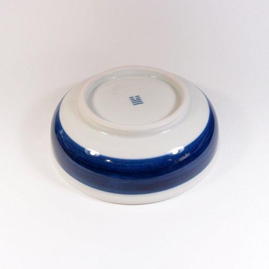 白青|中鉢(縞柄・太)【砥部焼】