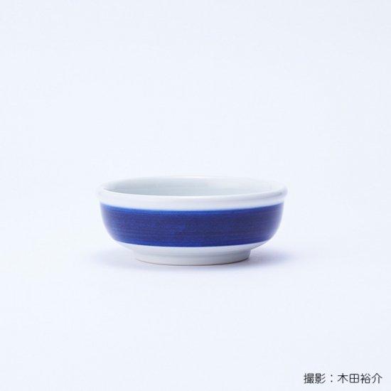 白青|小鉢(縞柄・太)【砥部焼】