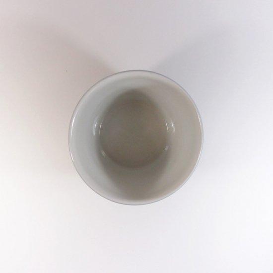 白青|蕎麦猪口(絵柄・まだい)【砥部焼】