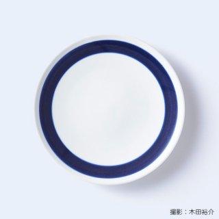 白青|大皿(縞柄・細)【砥部焼】