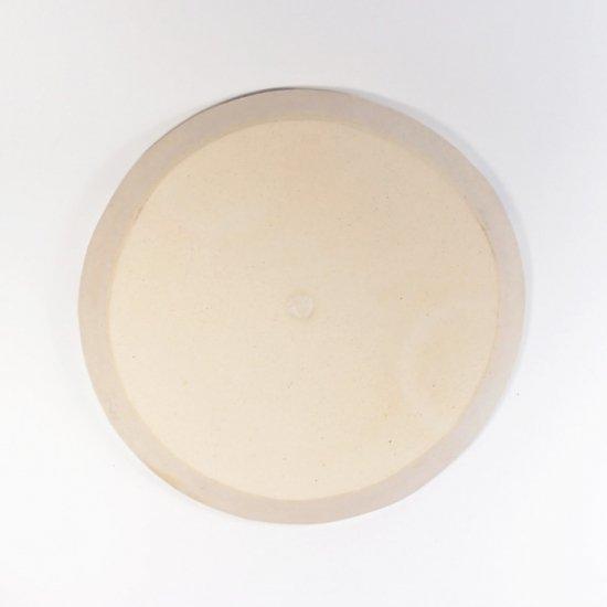 古川真紀子|幾何学文様皿 5寸(白)