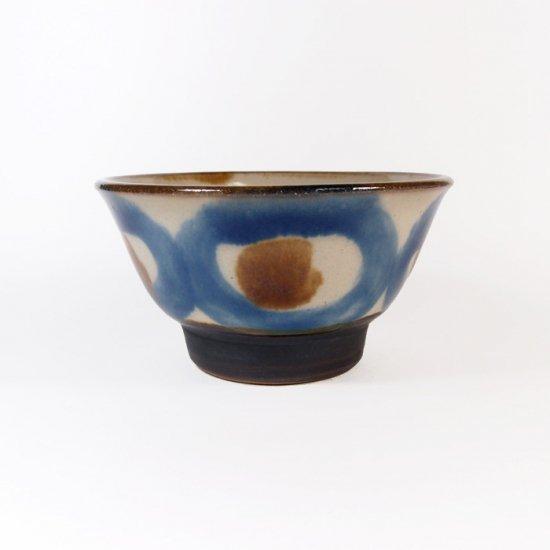 ノモ陶器製作所(野本周)|3.5寸マカイ(お茶碗) コバルト 【やちむん】