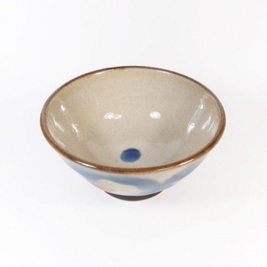 ノモ陶器製作所(野本周)|4寸マカイ(お茶碗) コバルト 【やちむん】
