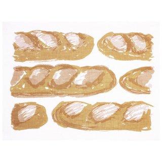 【クリックポストOK】EFUKiN(絵ふきん)|baguettle1【ふきん・キッチンクロス・ランチョンマット】