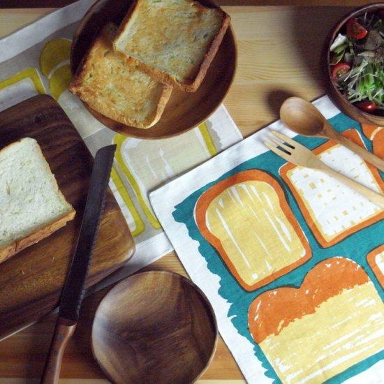 【クリックポストOK】EFUKiN(絵ふきん)|bread1【ふきん・キッチンクロス・ランチョンマット】