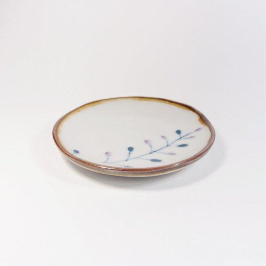 キカキカク|まめ皿 フジ(青×紫)