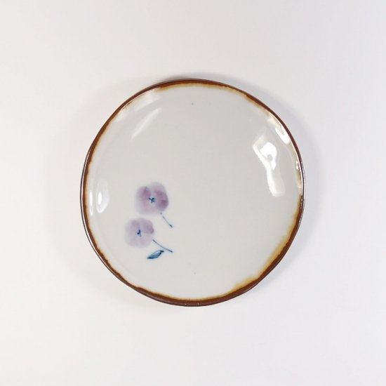 キカキカク|まめ皿 コバナ(青×紫)
