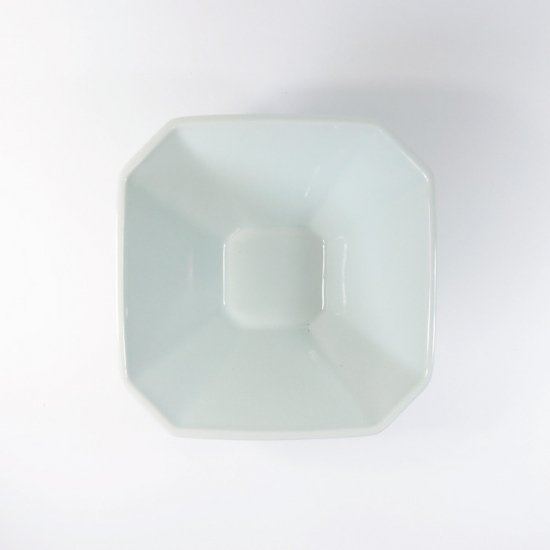 h+(エイチプラス)|八角小鉢 ブルー【波佐見焼】