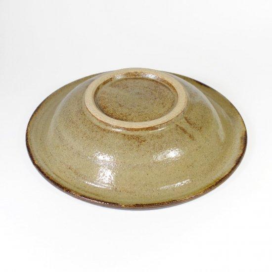 エドメ陶房(川上真悟)|6寸鉢 水玉  【やちむん】