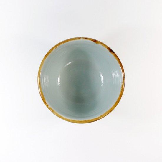 原村俊之│うろこ フリーカップ ブルー【磁器】