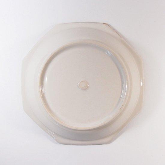 原村俊之│八角深皿(小) ホワイト【磁器】