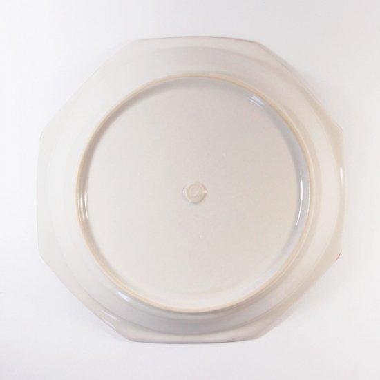 原村俊之│八角深皿(中) ホワイト【磁器】