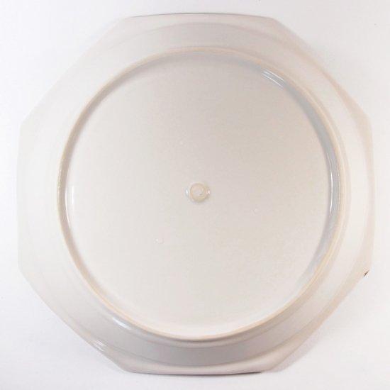 原村俊之│八角深皿(大) ホワイト【磁器】