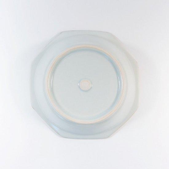 原村俊之│八角小鉢 ブルー【磁器】