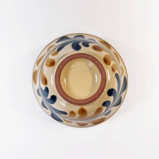 陶眞窯(とうしんがま)|3.5寸マカイ デイゴ唐草【やちむん】