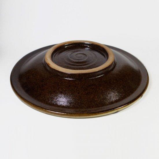 ノモ陶器製作所(野本周)|7寸皿 イッチン 小枝 【やちむん】